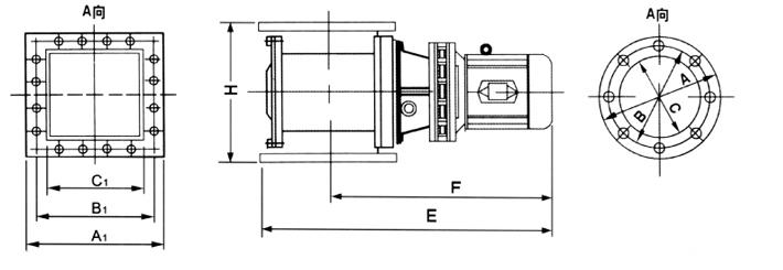 dxv-y型星形卸灰阀图片